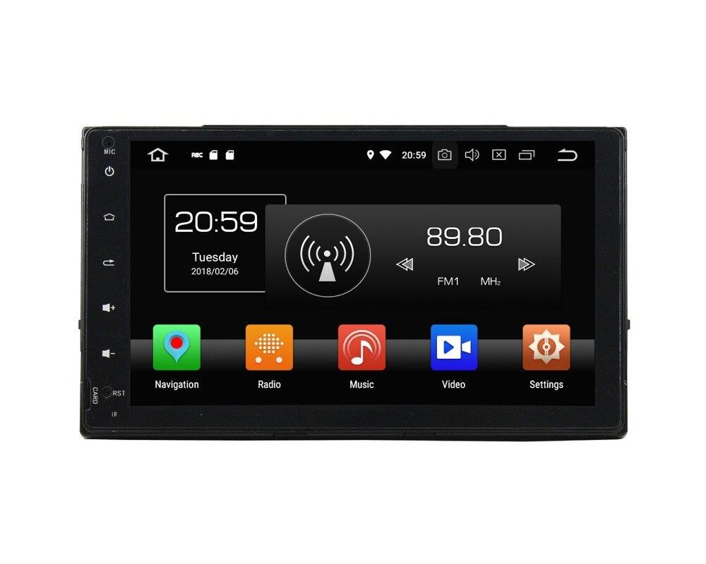 4GB+32GB Octa Core Android 8.0 Car Radio DVD Multimedia Head Unit for Toyota Corolla 2016 2017 Car GPS WIFI Bluetooth USB DVR