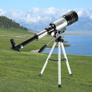 Image 1 - חיצוני HD טלסקופ 150X שבירה שטח האסטרונומי משקפת נסיעות אכון היקף עם חצובה ניידת מתכוונן מנוף
