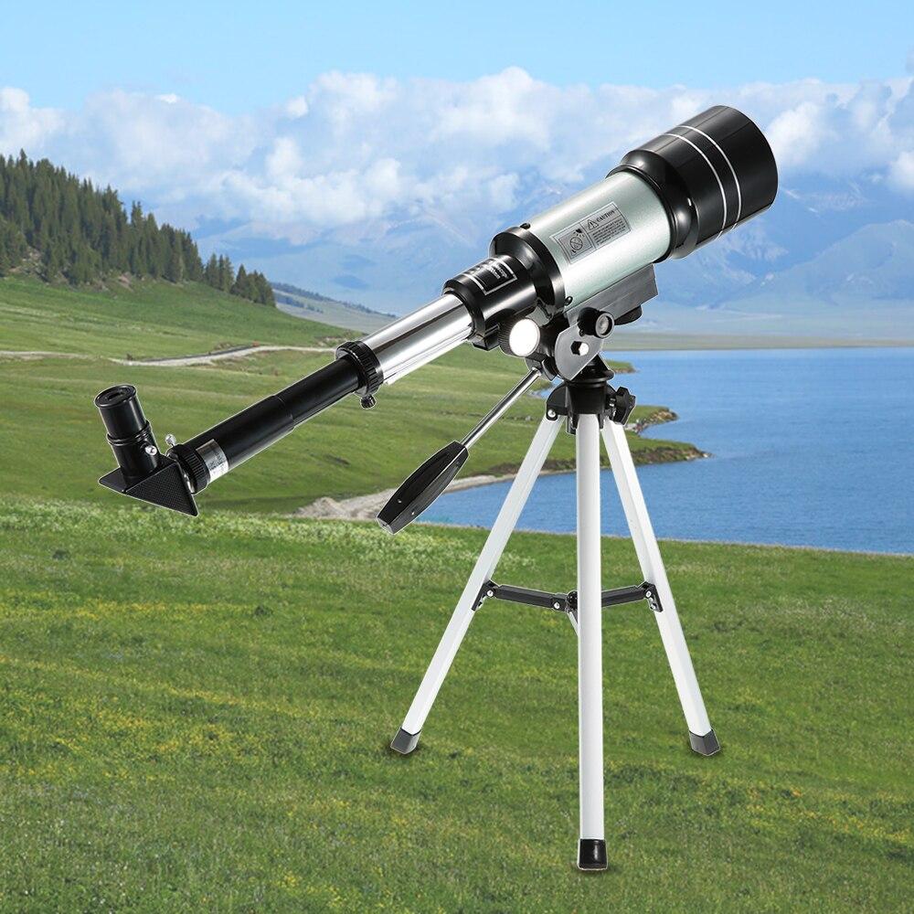 Télescope HD extérieur 150X espace de réfraction astronomique monoculaire voyage longue-vue avec trépied Portable levier réglable