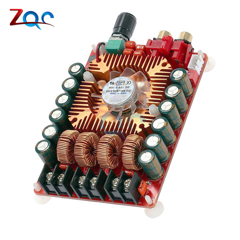 5pcs Yl2020 20w Digital Stereo Audio Amplifier Board Power High 160w Dual Channel Module