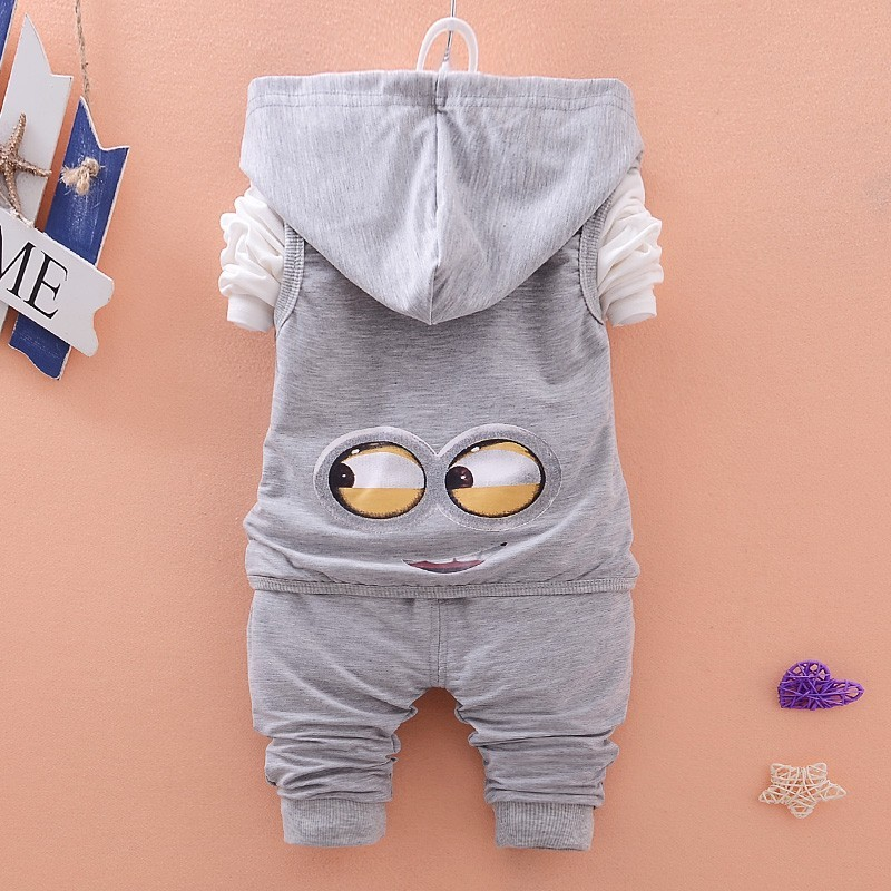 HTB1l6G3NXXXXXaeXXXXq6xXFXXXy - Hot style spring baby girls boys suits mignon / newborn clothing set kids vest + shirt + pants 3 pcs. sets children suits
