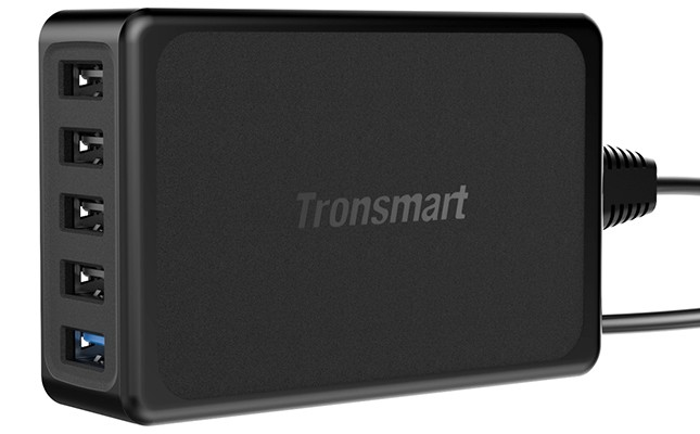 Tronsmart U5PTA, Qualcomm Quick Charge 3.0 and VoltIQ Desktop Charger
