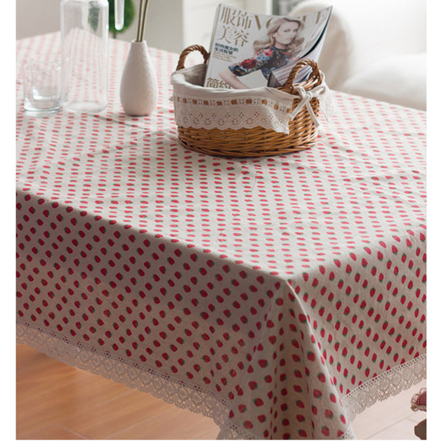 Strawberry Tablecloth Direct Linen Rochet Lace Rectangular Tablecloths  Tabel Poker Table Cloth Tablecloths For Square Table