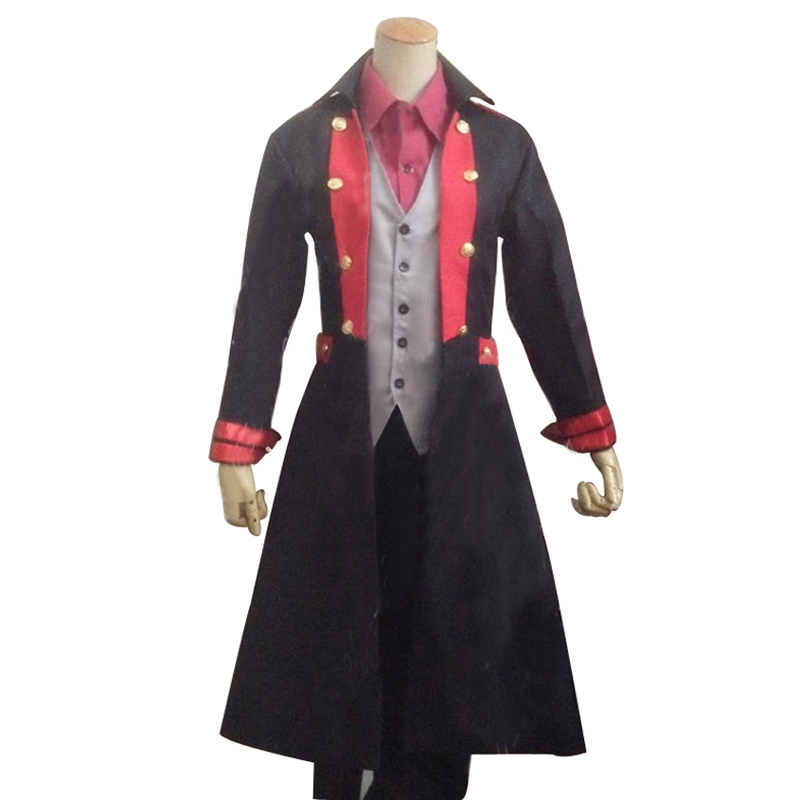 Kamen Rider Gaim Monsieur Banane Kaito Kumon Uniform Cosplay Costume F008