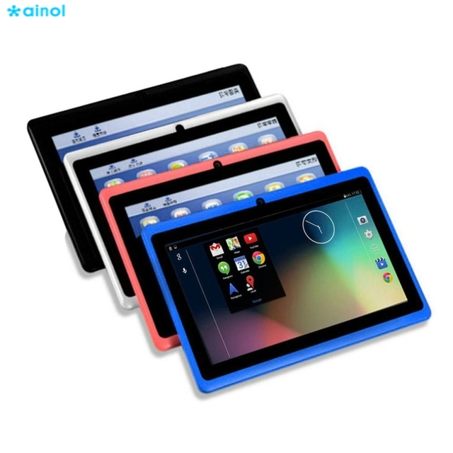 Ainol Kids Gift Tablets 7 Inch Android TFT Display HD 1024x600 Quad Core Tablet Bluetooth Wifi 8GB Games Tablet Dual Camera