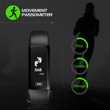 Smart Fitness Bracelet Intelligent Push Message 50 Words Blood Pressure Oxygen Heart Rate Monitor pk for TEZER R5MAX Wristbands