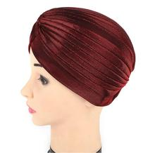2017 new fashion women hats turban caps dome caps head wrap Europe style india hats women beanies skullies for summer and spring