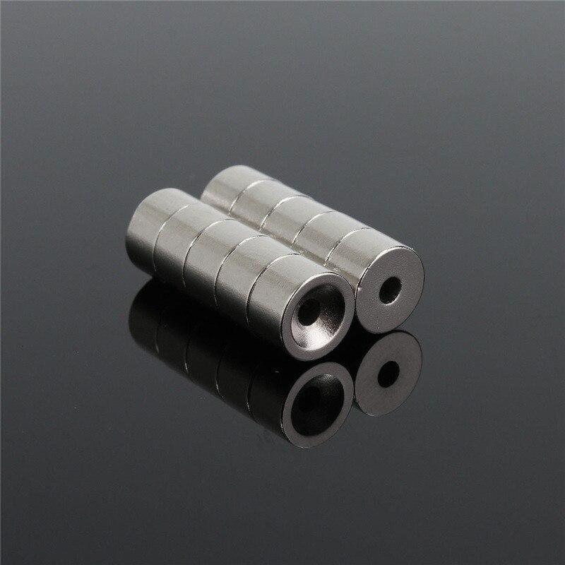 10pcs N52 12x1mm Starke Scheibe Runde Magneten N52 Rare-Earth Neodym-magnet