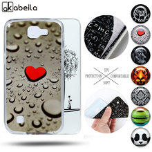 AKABEILA Soft TPU Painted Mobile Phone Cases For LG K4 K120E K130E K121 4.5″ Cover Anti-Knock Mobile Phone Accessories & Parts