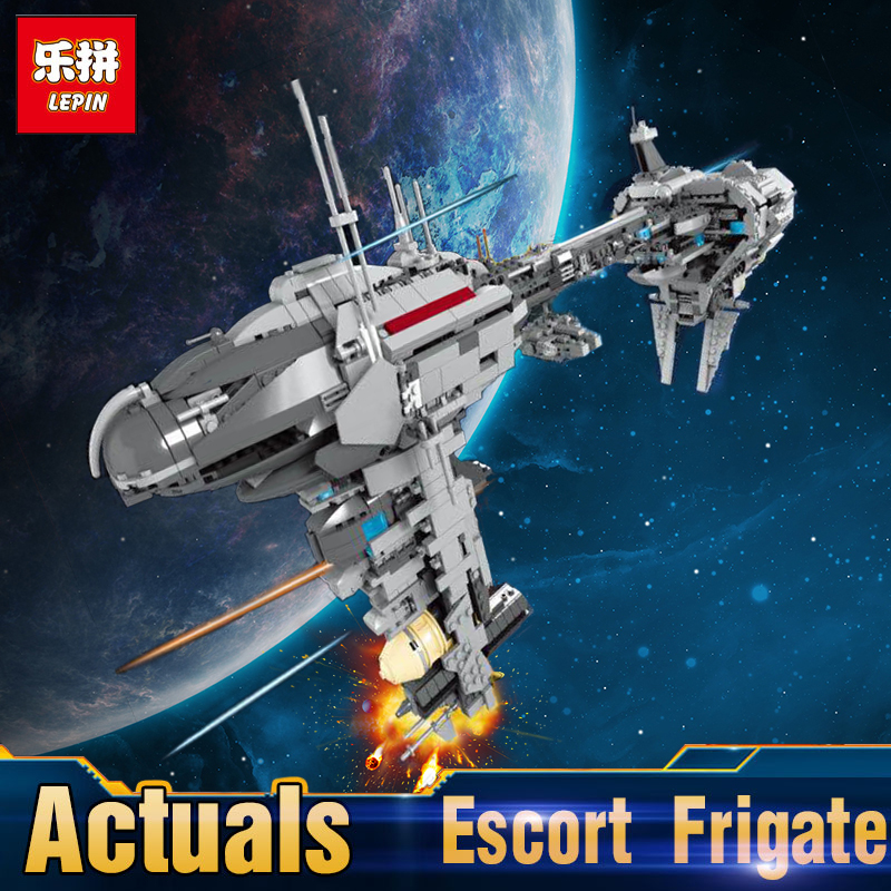 Lepin 05083 Compatible legoing Star MOC Series The Nebulon Toy Medical Frigate Set Building Blocks Brick Toy for Children Gift