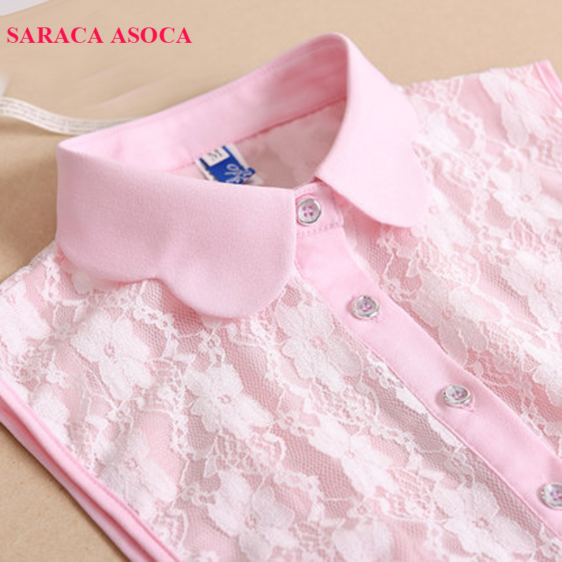 Fashion Lace Detachable Collars Women All Match Sweater Shirt Fake Collar For Girls