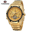 2017 forsining reloj hombre orologio uomo day/week/24 horas tourbillion relojes de pulsera caja de regalo envío gratis