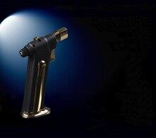 COHIBA Gewidmet Zigarette Jet Torch Schwarz Winddicht Nachfüllbare Gas zigarettenanzünder