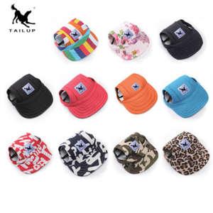 e4dbe89657c TAILUP Summer Pet Dog Hat Accessories Baseball Cap