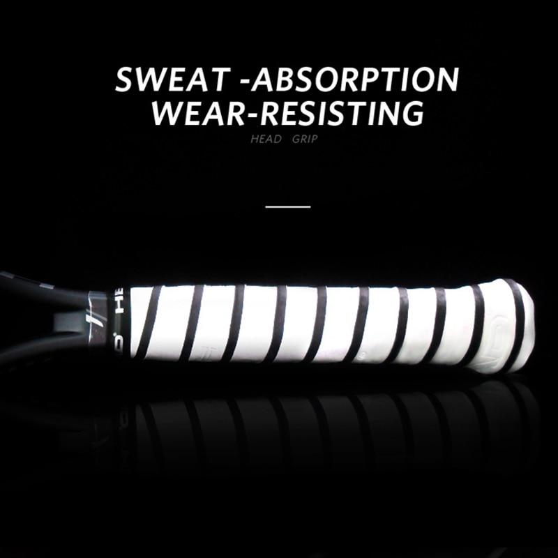 10 PCS/SET Anti Slip Head Overgrip Tennis Grip Racket Padel Accessories Shock Absorber Raquete De Tennis Badminton Training 2