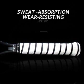10 PCS/SET Anti Slip Head Overgrip Tennis Grip Racket Padel Accessories Shock Absorber Raquete De Tennis Badminton Training 7