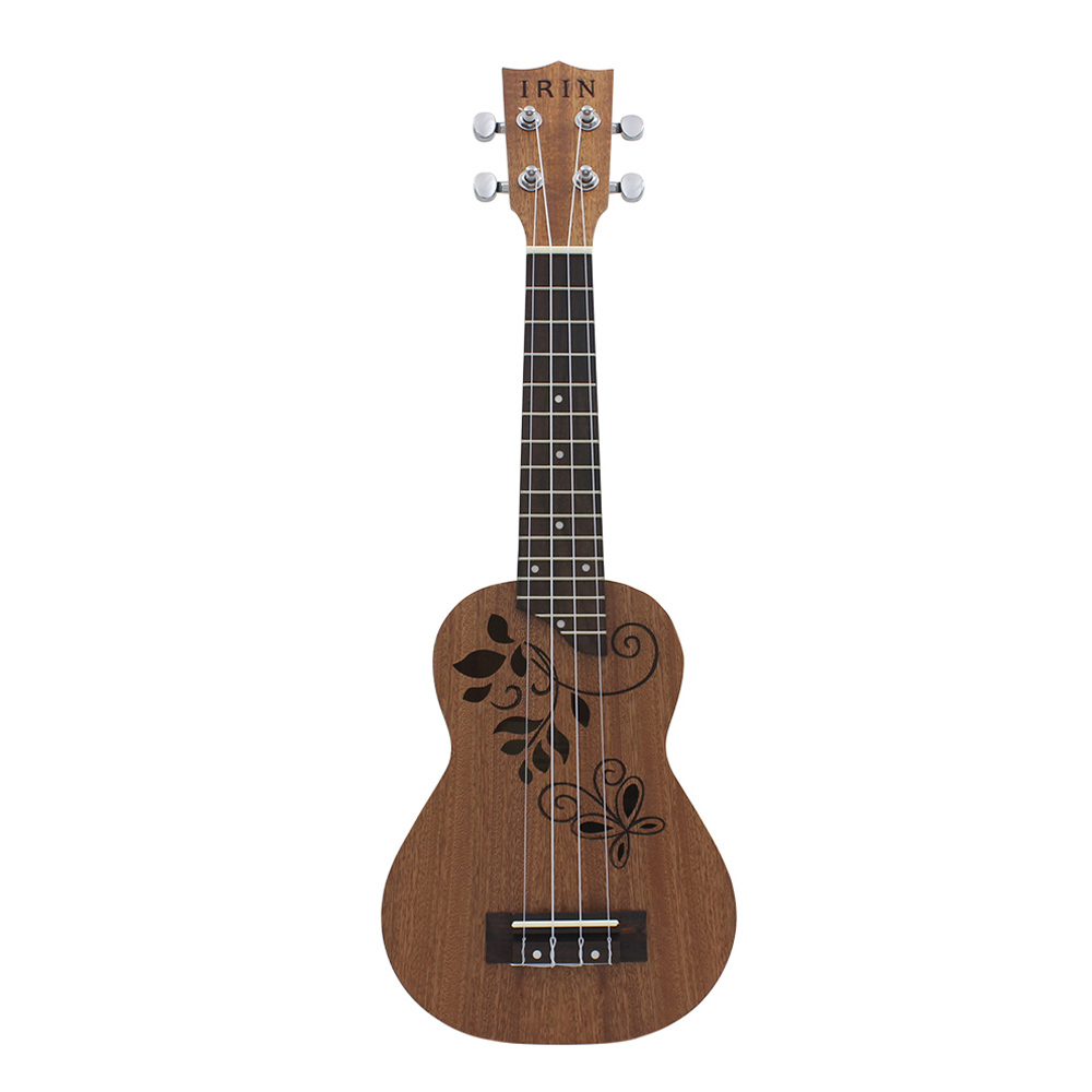 HOT-IRIN 21 inch Ukulele Sapele Wood Ukelele Uke Kit
