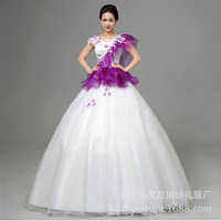 Fashionable Refine Ball Gown Strapless Organza Beading/Jacket Girls Quinceanera Dresses quinceanera kjole