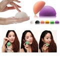 Exfoliator Cleanse Natural Konjac Konnyaku Facial Puff Face Wash Cleansing Sponge Cosmetic Makeup Tools Green Pink White