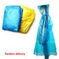 Ein Zeit Notfall Wasserdichte Tuch Regenmantel Reise Camping Muss Regen Mantel Erwachsene Unisex Farbe Zufällig 1 stücke-in Regenmäntel aus Heim und Garten bei