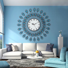 Creative Peacock background wall living room sofa mural wall hangings Pendant Home Furnishing Bedroom decoration, Ornaments