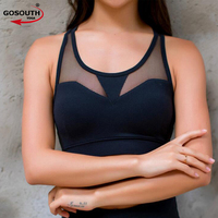 New Sexy Sports Bra Top Running Gym Hollow Backless Vest Push Up Underwear Fitness Yoga Bras