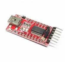100 יחידות FT232RL FTDI USB 3.3 v 5.5 v כדי TTL הסידורי מתאם מודול עבור Arduino FT232 מיני יציאת