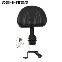 Motorcycle Seat Black Leather Backrest Sissy Bar Cafe Racer For Indian Chieftain Comfortable Motorcycle Seat