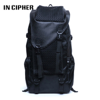 Oxford Fabric Waterproof Laptop Backpack Large Capacity Double Shoulder Schoolbags In Cipher Brand Leisure Travel Bag
