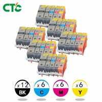 30x Tinte Patronen PGI 520 CLI 521 für Canon PIXMA iP3600 4600 4700 MP 540 550 560 620 630 640 980 MX860 Drucker mit chip