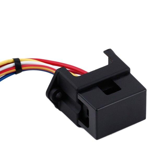 4-way fuse holder 15cm wire standard 2-input fuse board fuse box for marine  truck trike yacht boat car