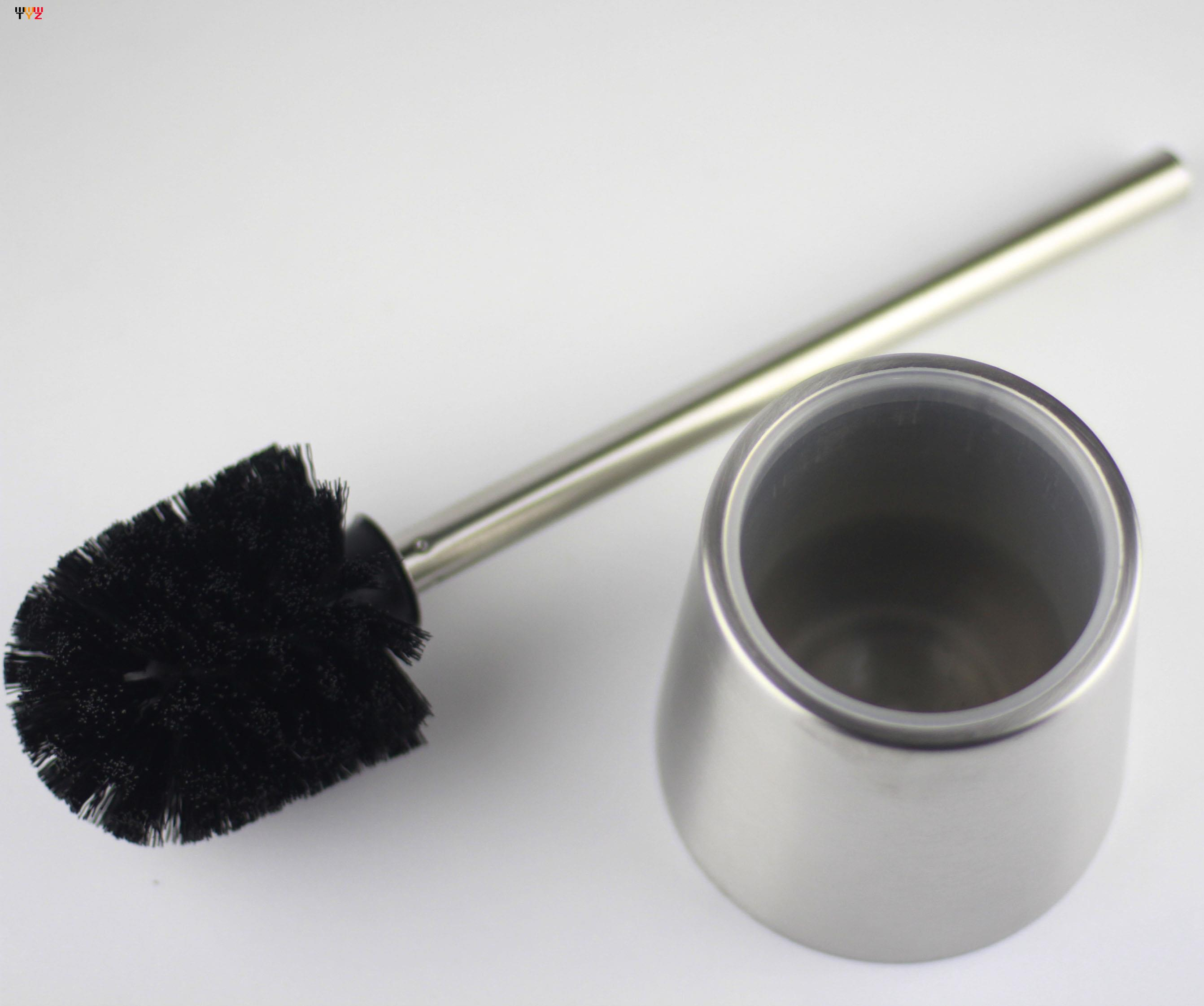 Stainless Steel Toilet Cleaning Toilet Brush Bathroom Cleaning Brush Bathroom Supplies