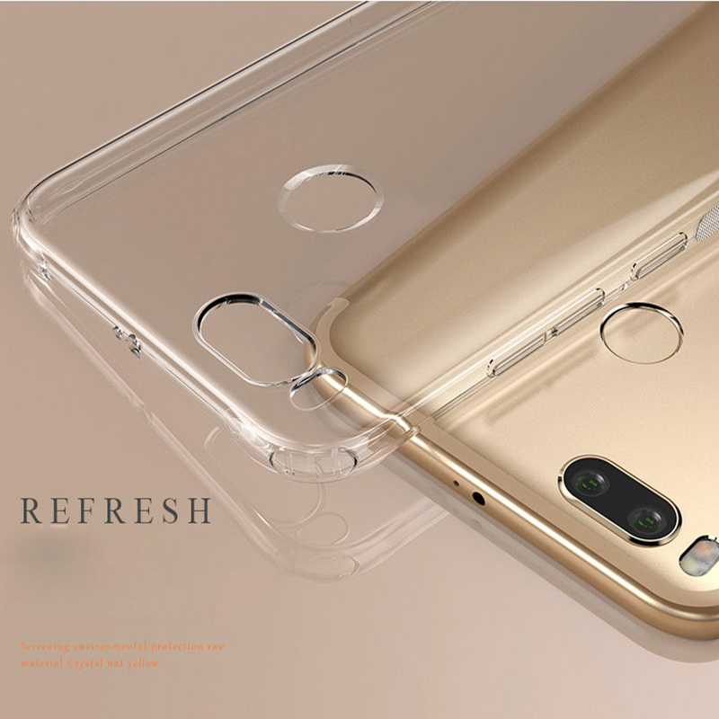 Transparent Clear Case Soft TPU Silicone Cover Phone Case for For Xiaomi Redmi Note 7 6 5 Pro Xiaomi Mi 9 SE Mi 8 Lite Mi 6 Case in Fitted Cases from Cellphones Telecommunications