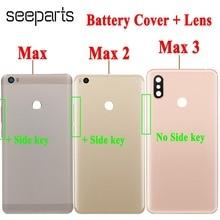 "6.9"" For Xiaomi Mi MAX 3 Battery Cover Door Housing Back Housing Case For 6.44"" Xiaomi MAX 2 Battery Door Replacement Parts"