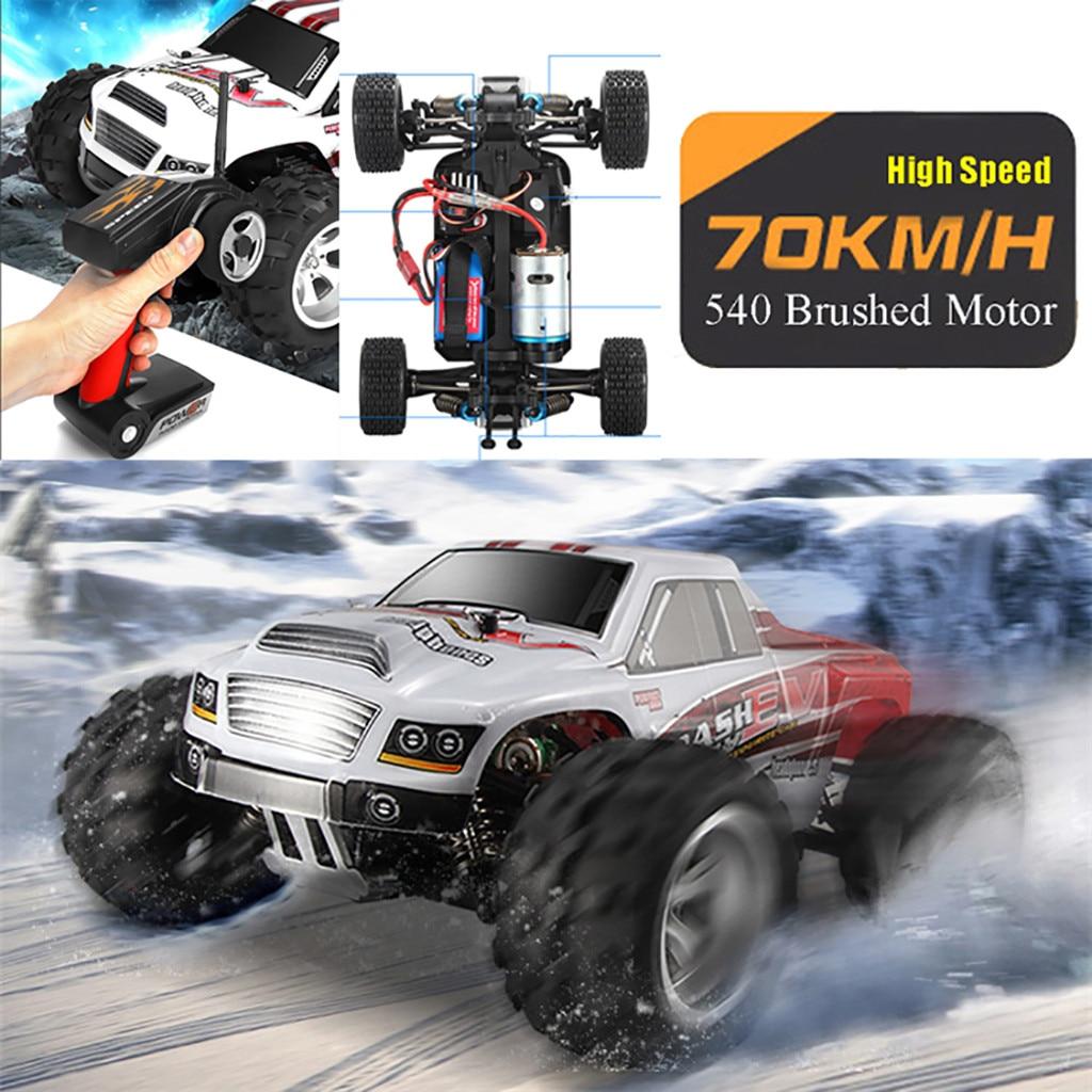 2019 Uzaktan Kumandali Araba WLtoys A979B 1:18 RC Car 2.4G 4WD High Speed 70km/h Off-Road Race Buggy Toy Gift Remote Control Car