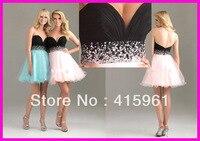Популярные розовый возлюбленной короткие, с бисером вечерние, выпускные платья блёстки низкая назад 2019 vestido de formatura Выпускные платья