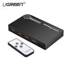 Ugreen HDMI Splitter 3 Port Switch HDMI Switcher HDMI Porta per XBOX 360 PS3 PS4 Astuto di Android HDTV 1080 p 3 ingresso 1 Uscita 4 k