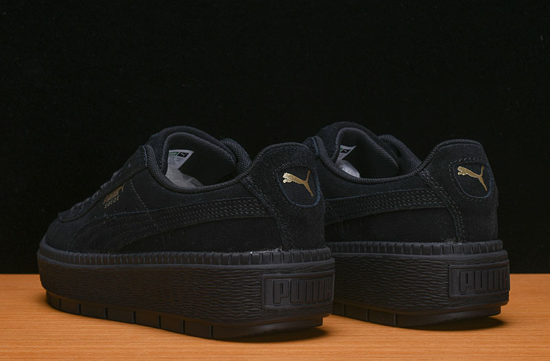 Free shipping PUMA FENTY Suede Cleated Creeper Women's First