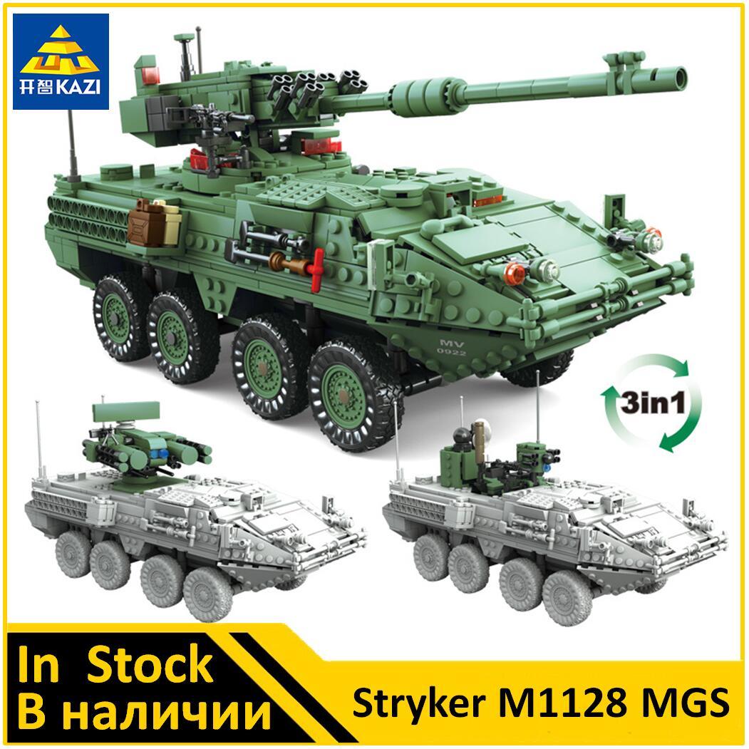 KAZI Stryker M1128 MGS militar Compatible KY10001 juego de bloques de construcción nuevos juguetes para niños-in Bloques from Juguetes y pasatiempos on AliExpress - 11.11_Double 11_Singles' Day 1