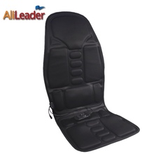 Household Car Multifunctional Massage Cushion Seat Heating Cervical Back Car-Massager Rolling and Vibrating-Massage Full Back massager massage waist back cushion chair cushion of household multifunctional massage cushion for leaning on