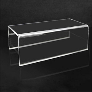 Acrylic Shoes Display Holder Multifunction Retail Display Stand Props U Shaped Booth Support For Cosmetic Boutiques Display
