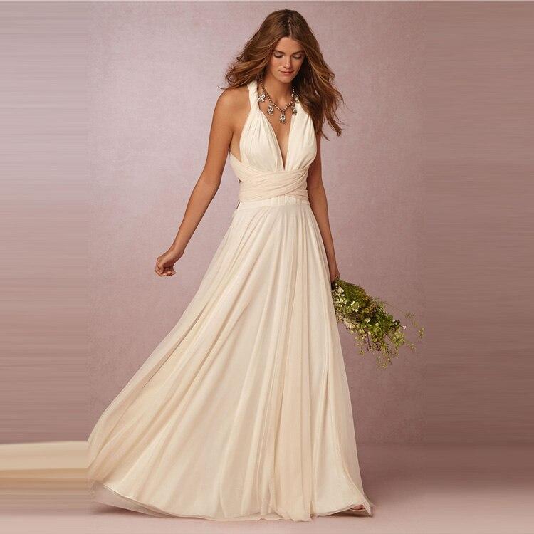 High Quality Long Convertible font b Bridesmaid b font font b Dresses b font Floor Length