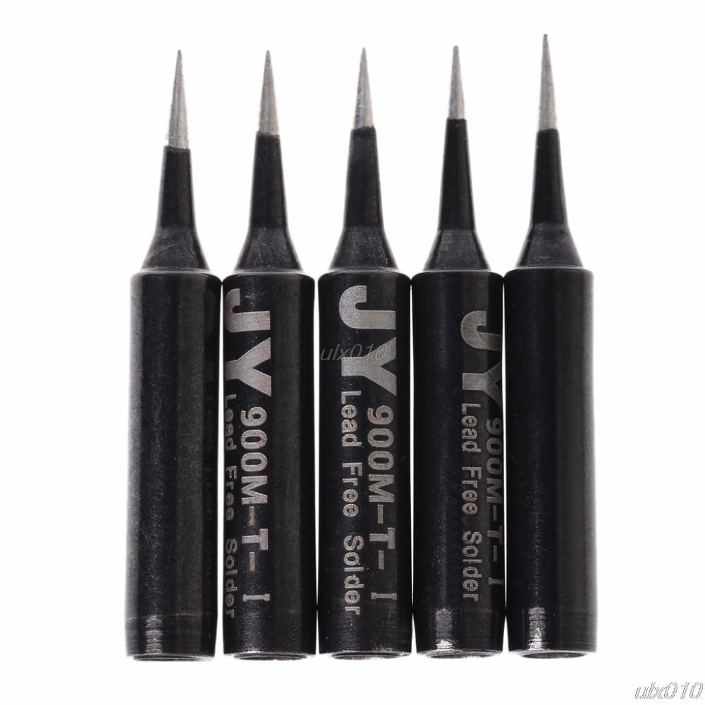 5 Pcs Lead Free Replacement Soldering Solder Iron Tips 900M-T-I Saike 936 852d+ 909D Solder Iron Tips S18 Drop ship моноблок lenovo ideacentre aio 520 22ikl ms silver f0d4000wrk intel core i3 7100t 3 4 ghz 4096mb 1000gb dvd rw intel hd graphics wi fi bluetooth cam 21 5 1920x1080 windows 10 home 64 bit