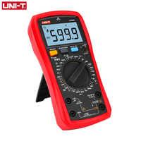 UNI-T UNI T cyfrowy multimetr prawdziwej wartości skutecznej UT890C UT890D + instrukcja zakres AC DC częstotliwości pojemności urządzenie do pomiaru temperatury podświetlenie