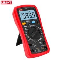 UNI T uni t multímetro digital autêntico rms ut890c ut890d + faixa manual ac dc, testador de temperatura de capacitância de frequência luz de fundo