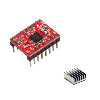 Professional Stepper Driver 3D Printer A4988 Stepper Motor Driver Module Ideal Fit For Complex Microprocessor