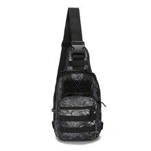 Professional Camouflage Military Tactical Backpack Shoulder Rucksacks Black Outdoor Bag for Climbing Hiking Camping Bag