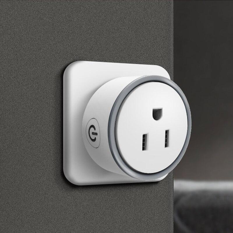 Kankun Smart Mini US WiFi Socket Plug UL Certification Voice Control Via Google Home and Alexa remote control by english app