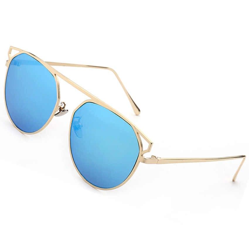 Occhiali Da Sole Vintage Unisex Ovale Telaio In Lega di Casual Occhiali Da Sole Delle Donne Degli Uomini Óculos UV400