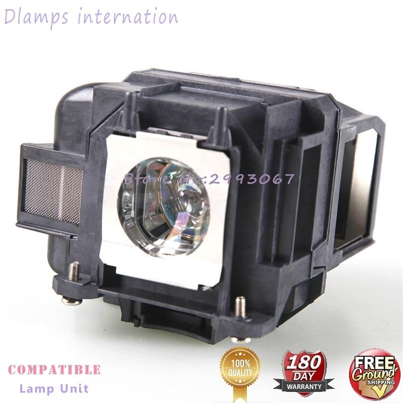 EX3220 EX5220 EX5230 EB-945 EB-955W EB-965 EB-98 EB-S17 EB-S18 EB-SXW03 projectorlamp V13H010L78 ELP78 voor EPSON-projectoren